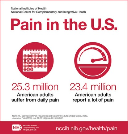 pain in the us